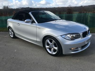 Bmw 1 series 118d convertible 2009 px swap fiat 500 abarth