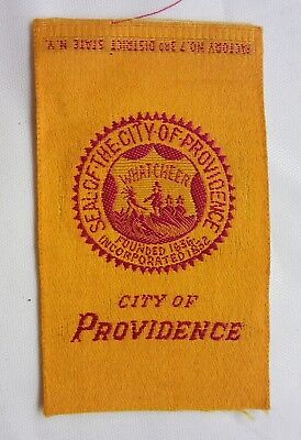 c1910 Egyptienne Luxury Tobacco Silk Cities Series-City of Providence