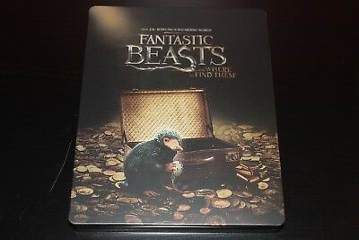 Fantastic Beasts and Where to Find Them - Best Buy Canada Steelbook 4K Blu-Ray