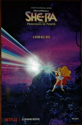Netflix She-Ra And The Princesses Of Power 11x17 Promo Poster Brand New Rare