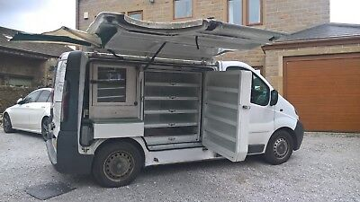 mobile sandwich / coffee van with round.