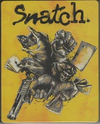 Snatch Blu Ray Steelbook