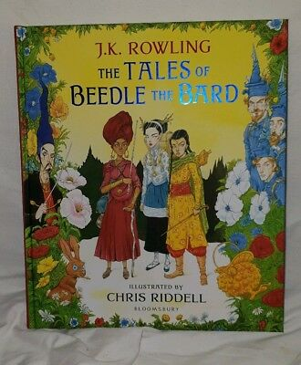 J K Rowling - The Tales Of Beedle The Bard - Signed 1st Edition HB  - New -