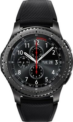 Samsung Smartwatches Gear S3 frontier Space Gray