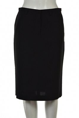 9778dbdfa2 Barbara Bui Initials Skirt Size 38 Black Pencil Knee Length Wool Wear to  Work