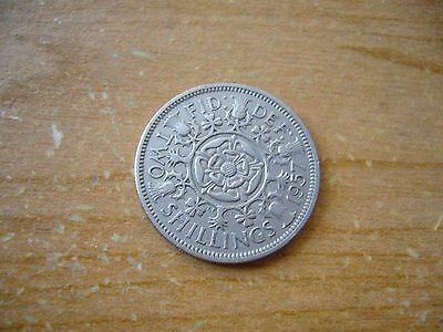 1948 to 1966 UK Great Britain Florin / Two Shilling Coin choice of 1