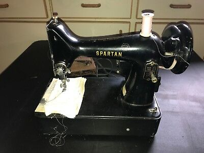 VINTAGE SINGER SPARTAN 400K Sewing Machine 40040th Size W BASE And Beauteous 1960 Singer Spartan Sewing Machine Model 192k