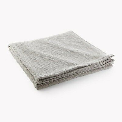 Faribault Thermal Weave Merino Wool Queen Blanket