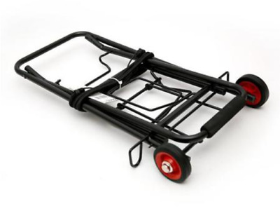 Portable Folding Hand Cart Hand Truck Dolly Steel Rubber Wheel Foldable Compact