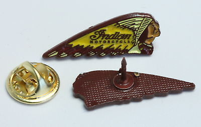 Indian Motorcycles Shape Motorrad Pin (Pw188)