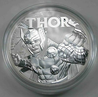 Tuvalu $1 Dollar 2018 THOR - Marvel Comics 1 Oz 9999 Silver [1625