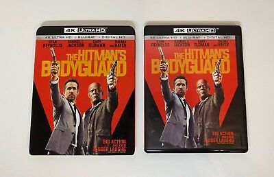 The Hitman's Bodyguard - 4K UHD + Blu-ray w/ Mint Slipcover - No digital