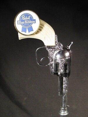 beer tap handles  diecast pabst blue ribbon