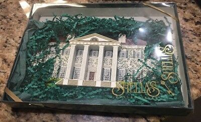 """New And Signed"" Shelia's House - GONE WITH THE WIND - TWELVE OAKS 1995"