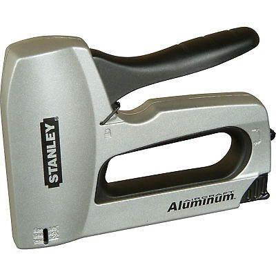 STANLEY SharpShooter Heavy Duty Aluminium Hand Staple Gun Anti-Jam 0-TR150