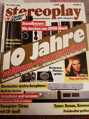 Stereoplay 05/88 Mai 1988