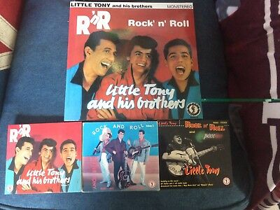 Little Tony & His Brothers Promotional Pack 1 Vynil + 3 Cd Digipack