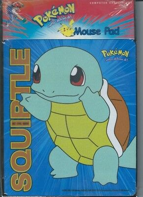 Squirtle Pokemon Mouse Pad Mousepad licensed Computer Expressions