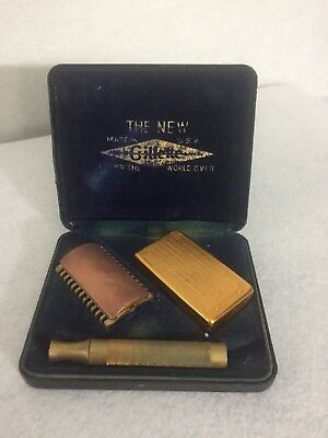 Gillette Razor 1920 Antique In Box