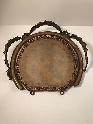 Antique French Bed Crown Late 19th Century
