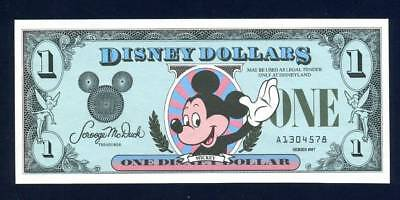 Disney Dollars, 1987A, Uncirculated, The 1St Year
