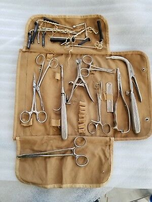 Antique Medical lot Surgical tools Hospital,  Clamps, etc.