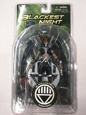 DC Direct Blackest Night HAWKGIRL Action Figure NEW