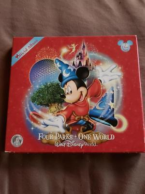 "Walt Disney World ""official Album"" ""four Parks One World"" 2 Cd Set Rare Find"