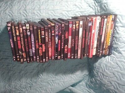 Lot of 31 Horror DVD Movies Exact Titles Shown very good condition Awesome Mix