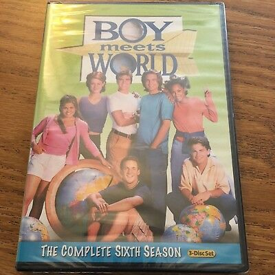 NEW Boy Meets World The Complete Sixth Season 6 (DVD 2011 3-Disc Set)