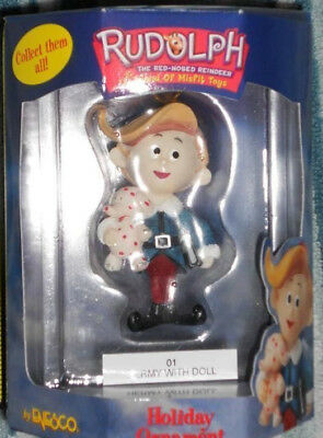 Hermey Herbie  Ornament Rudolph Island of Misfit Toys Rare