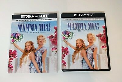 Mamma Mia! - 4K UHD + Blu-ray w/ Mint Slipcover - No digital