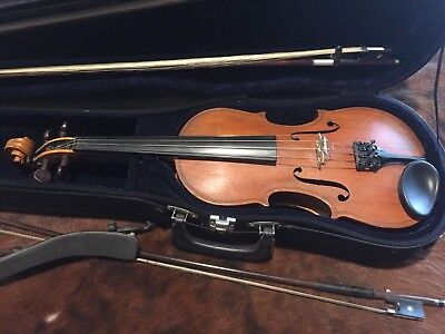 Antique Old Vintage George M. Anderson  Full Size Violin - NR