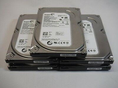 "Lot of 5 Seagate ST3320413AS 320GB 3.5"" SATA Desktop HDD Hard Drive"