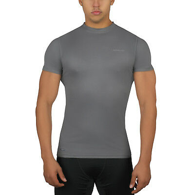New Mens Base Layer Long Short Sleeve Tactical Warm Thermal Sports Stretch Top