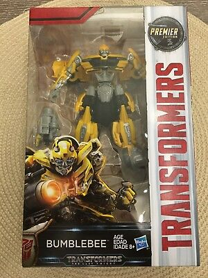 NEW - Transformers: The Last Knight Premier Edition Deluxe Bumblebee NIB