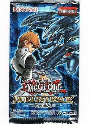 YUGIOH DUELIST PACK KAIBA BOOSTER PACK! English Unlimited