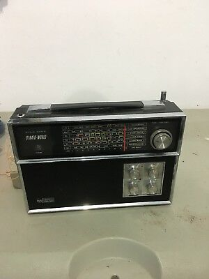"RCA ""STRATO WORLD 6 band portable radio"