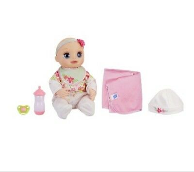 Baby Alive Real As Can Be Baby: Realistic Blonde Baby Doll New Christmas Hot Toy
