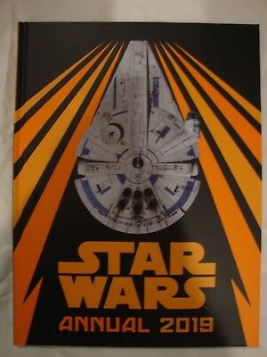 Star Wars 2019 Annual The Official Annual Millennium Falcon Brand New RRP £7.99
