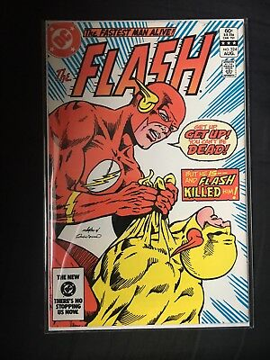 The Flash #324 (Death Of Reverse Flash)(Aug 1983, DC)