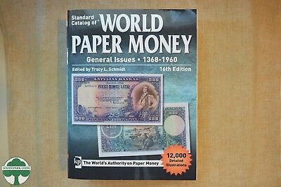 KRAUSE STANDARD CATALOG OF WORLD PAPER MONEY - GENERAL ISSUES - 16th EDITION