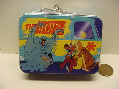 Hallmark Christmas Ornament 1999 Issue Scooby-Doo Lunch Box Set Pail Thermos Nbx