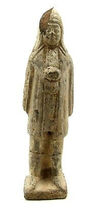 Authentic Ancient Chinese Tang Dynasty Terracotta Attendant Figurine - L693