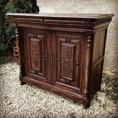 Early 1900s French Buffet Sideboard