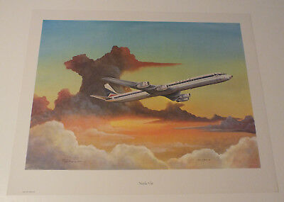 Aviation Art Print Delta Airlines  Streching Out Neil Gatewood