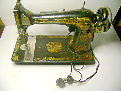 1923 Singer Model 127 Sewing Machine with Sphinx Decals G9972957