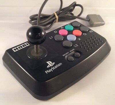 HORI Fighting Stick Fight Joystick Mini PS1 PlayStation 1 Arcade Controller Pad