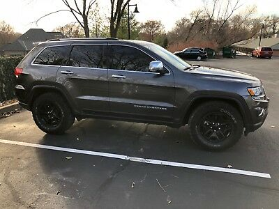 2014 Jeep Grand Cherokee Limited 20k miles! xenon, custom, heated steering, lifted, off road, mud, cooled seats!!