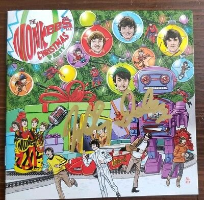 *AUTOGRAPHED* The monkees christmas party CD